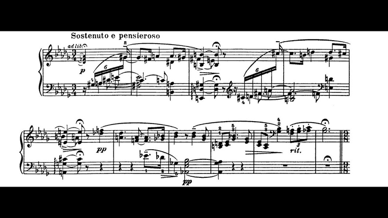 Bortkiewicz - Consolation Op. 17, 4 in D-Flat Major - Cyprien Katsaris Piano