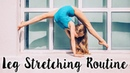 How to get Flexible Legs - Intermediate / Advanced Stretches