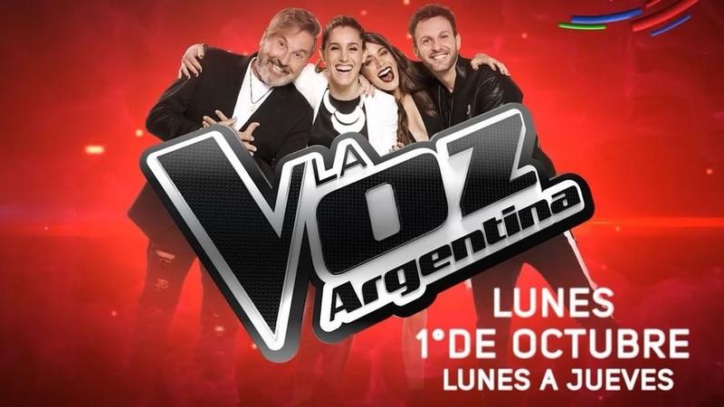 """La Voz Argentina on Instagram """"De lunes a jueves vas a escucharlos, vas a emocionarte, ¡vas a vivir un show espectacular! 🙌 LaVozArgentina, desde..."""