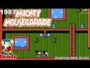 Микки Маус Приключения в Стране Чудес Денди Прохождение игры 1987 Mickey Mousecapade NES Playthrough