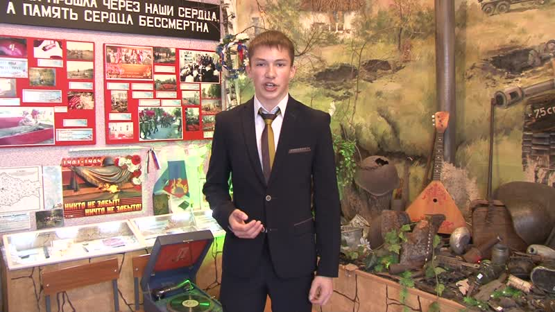 Чаплыгин Роман (МБОУ СОШ № 29 им. И.Н. Зикеева), стихотворение А.Т. Твардовского Рассказ танкиста