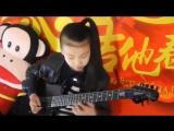 China Girl Liu Pinxi aka ''Yoyo'' Plays Mindblowing Guitar Ages 8 -10
