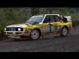 Dirt Rally ( Wales , Britannia ) (Audi Quattro ) Group B