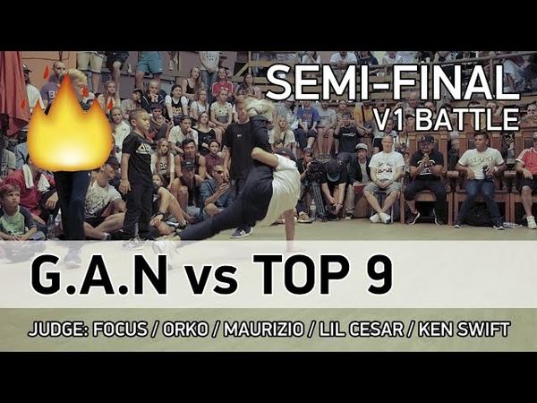 G.A.N vs Top 9 - 3x3 - 1/2 - V1 BATTLE - SPB - 23.07.18