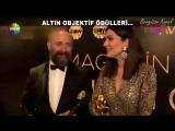 Бергюзар Корель и Халит Эргенч на вручении премии #AltınObjektif2018