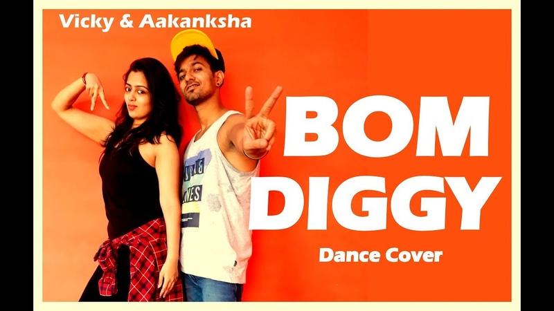 Bom Diggy Dance choreography   Zack Knight x Jasmin Walia   Vicky and Aakanksha
