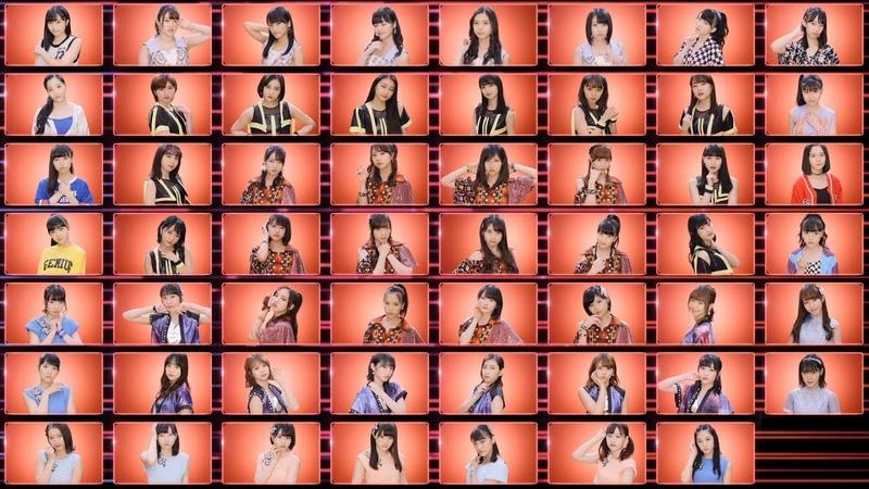 """ハロプロ・オールスターズ『憧れのStress free』 Hello Project All Stars The longing Stress free"""" MV"""