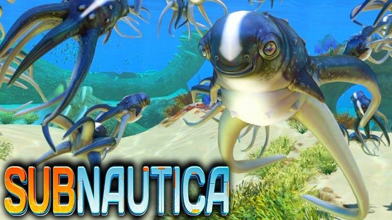 Subnautica выживаем в подводном мире! ч.13 - БУЛЬ БУЛЬ КАРАСИКИ!