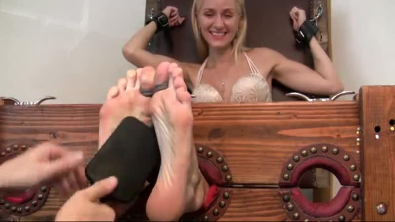 Blonde Tickle Torture