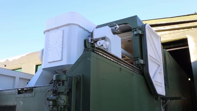 Лазер Пересвет заступил на боевое дежурство в России