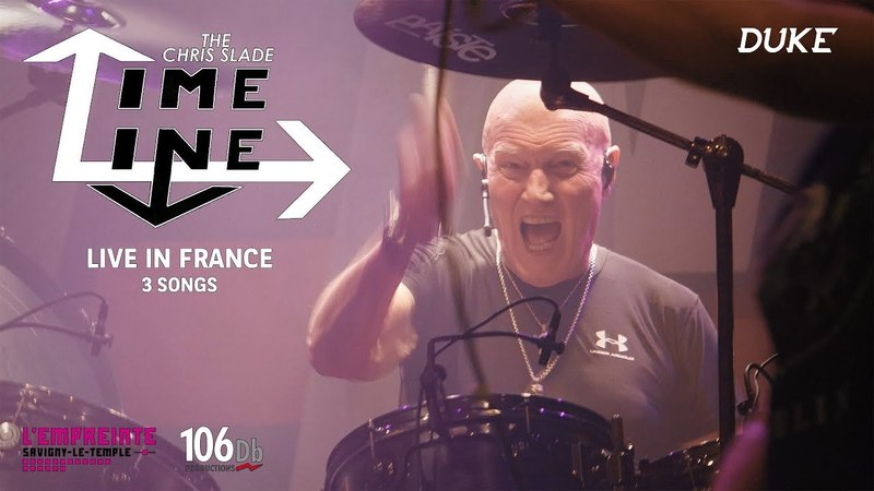 The Chris Slade Timeline - Big Gun/Davy's on the Road Again/High Voltage