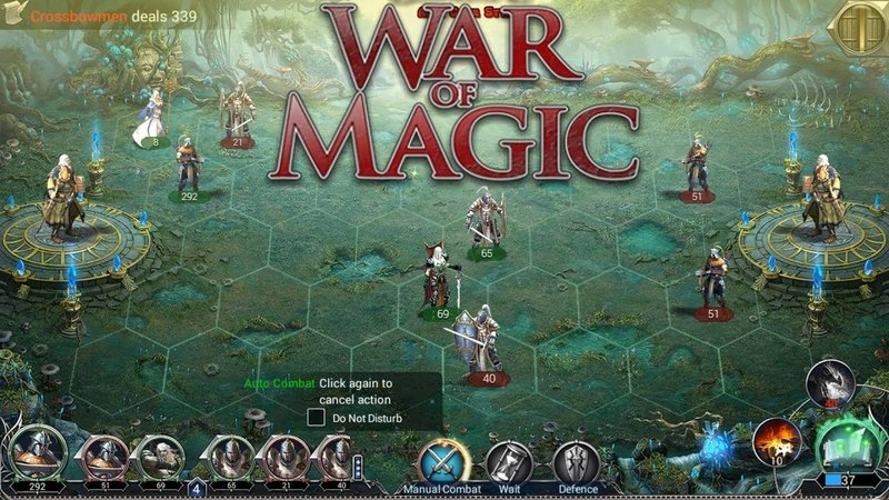 War and Magic (EN) - First look. Strategy with turn-based fights (Android Strategy)