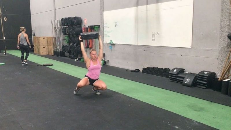 """Weightlifting 101 on Instagram """"Duck Walks is a great warm-up exercise for weightlifting and at the same time tests and improves both lower and up..."""