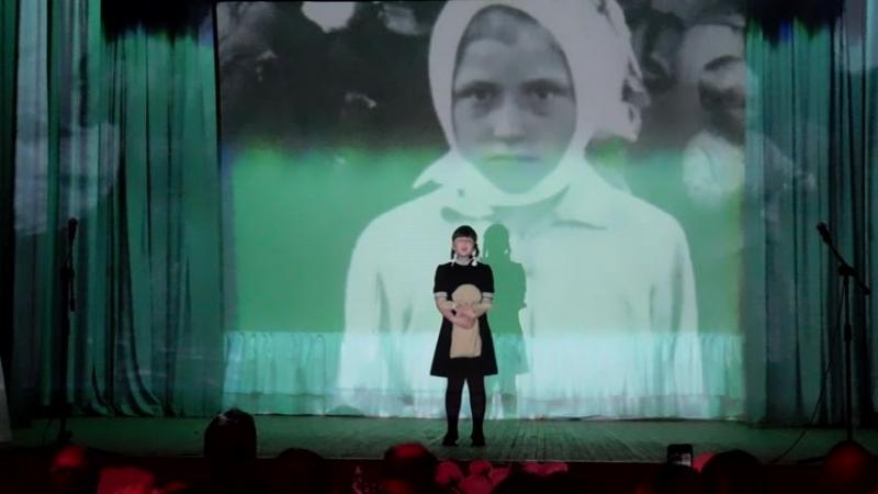 Две сестры исполнитель Эвелина Кирякова ученица 3 Б класса