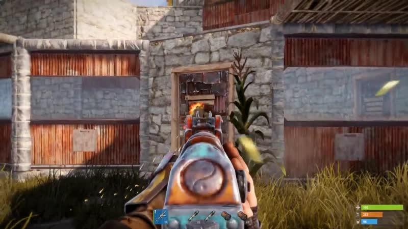 [CarryGames] Rust - Рейд бункера на грани срыва. Самый окупаемый рейд Соло выживание