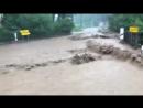 Schwere Überflutungen aktuell im Vogtland rund um Adorf