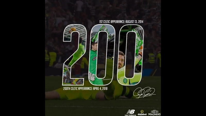 Craig Gordon - 200th Celtic Appearrance