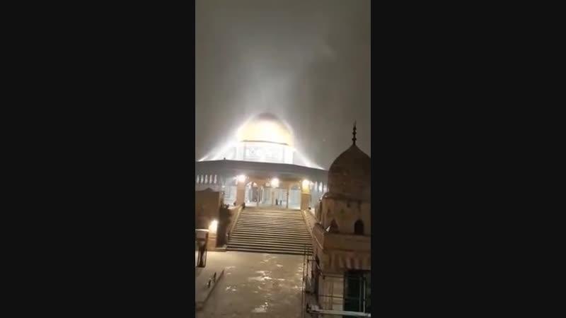 الرحمات تتنزل على المسجد الأقصى المبارك في هذه الليلة