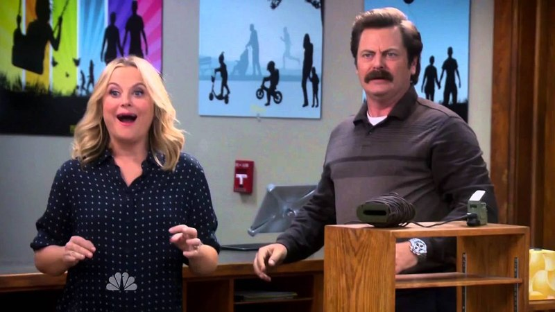 Parks and Recreation - Confetti Claymore