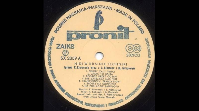 Krzysztof Krawczyk Niki w Krainie techniki strona A