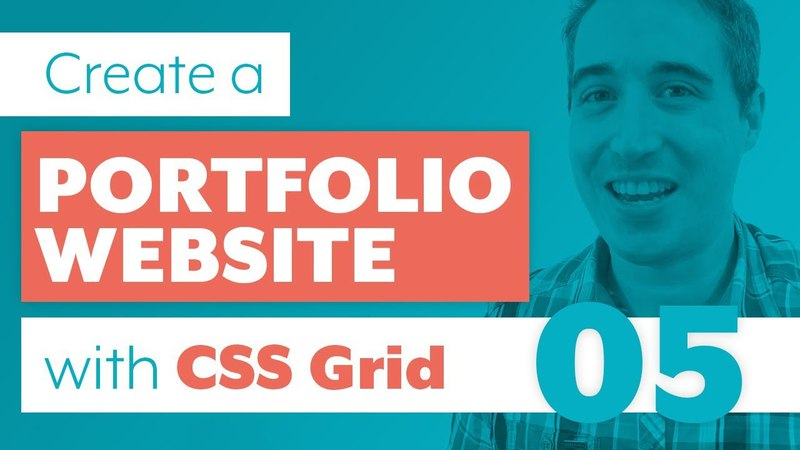 How to create a Portfolio Website with CSS Grid Sass | Part 5: Portfolio with flexbox fallbal