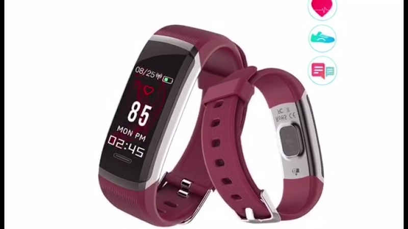 Sport Smart Wristband Waterproof Heart Rate Monitor
