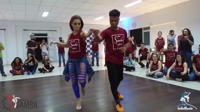 Baila Mundo - Léo Fortes e Robertinha Stephanie (Maratona do Samba 2018)
