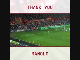 Grazie, manolo! - - good luck from all of us at saintsfc, @mgabbia23!.mp4