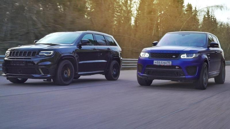Гурам VS Academeg Jeep Trackhawk VS Range Rover SVR Спецвыпуск