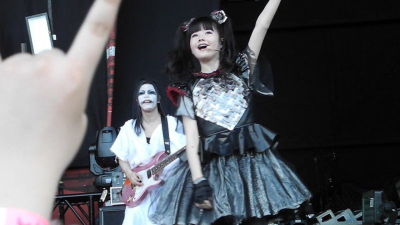 YUIMETAL Birthday Congratulations @ Korn tour 2017