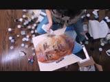 Dwayne Johnson GLITTER ART The Rock by TRILLI #TrilliLife