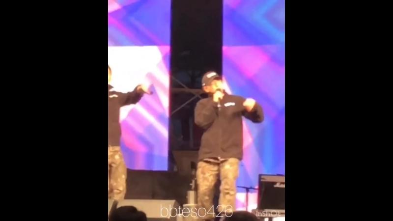 (14.10.18) Дэсон на Фестивале 27-й Пехотной Дивизии «Победители» в городе Хвачон, Корея