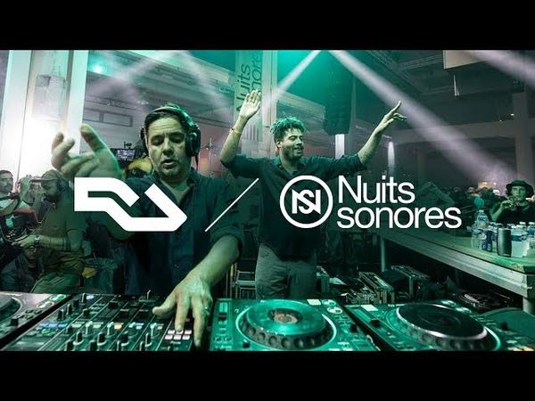 RA Live Laurent Garnier b2b Seth Troxler at Nuits Sonores 2018