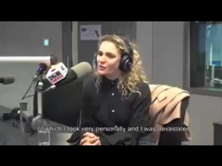 A small part of the interview with Danielle Cormack at #2gb873