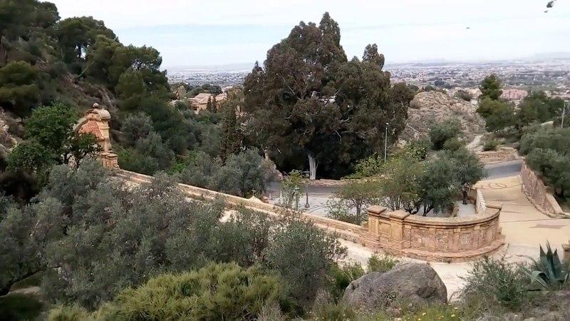 Вид на город с вершины Sanctuary of the Fuensanta