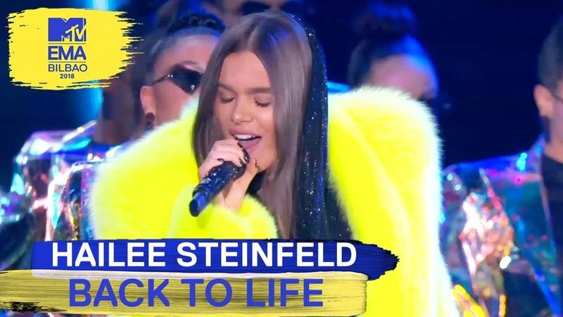 Hailee Steinfeld - Back To Life Live | MTV EMAs 2018