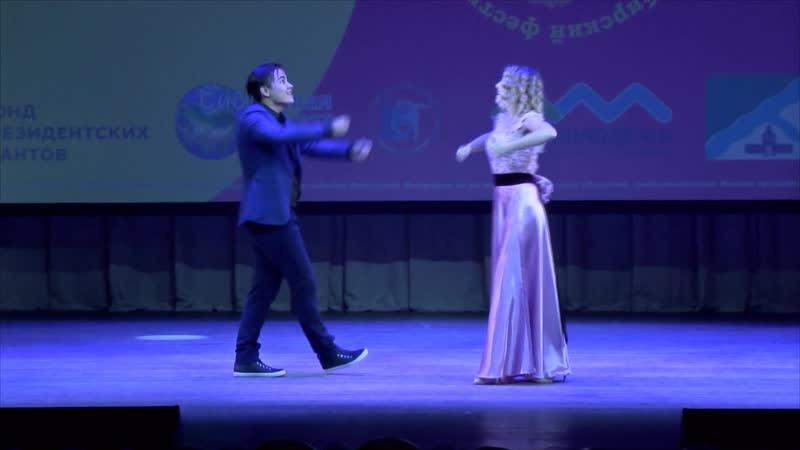 Валерий Эм и Елизавета Жидкова (НГТУ, синтез-театр Белый воробей) - Сохрани любовь