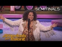 Vicki Barbolak Comedian Delivers Tips On How To Pick Up Men America's Got Talent 2018