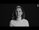 Millie Bobby Brown on Eleven Halloween Costumes, Beyoncé, and Drake   Screen Tests   W Magazine