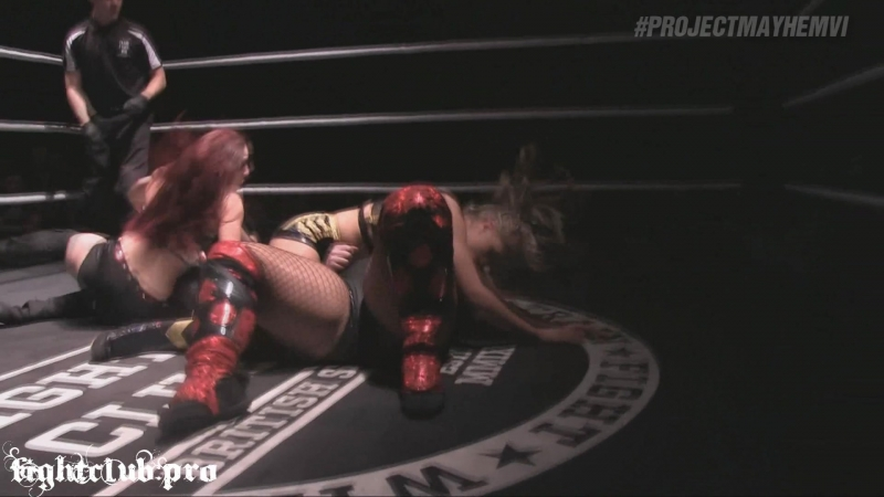 Jessicka Havok vs. Millie McKenzie vs. Kay Lee Ray - Fight Club Pro - Project Mayhem VI - Tag 1 - Open The Dragon House (09-22-2