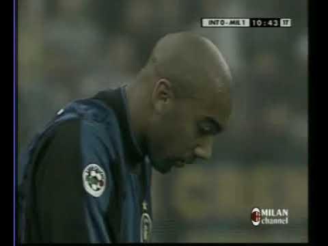 11.05.2001 Чемпионат Италии 30 тур Интер (Милан) - Милан 0:6
