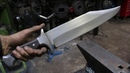 Forging the ultimate Bowie knife