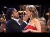 Anna Netrebko, Elina Garanca, Ramon Vargas, Ludovic Tezier sing quartet from Verdis opera Rigoletto