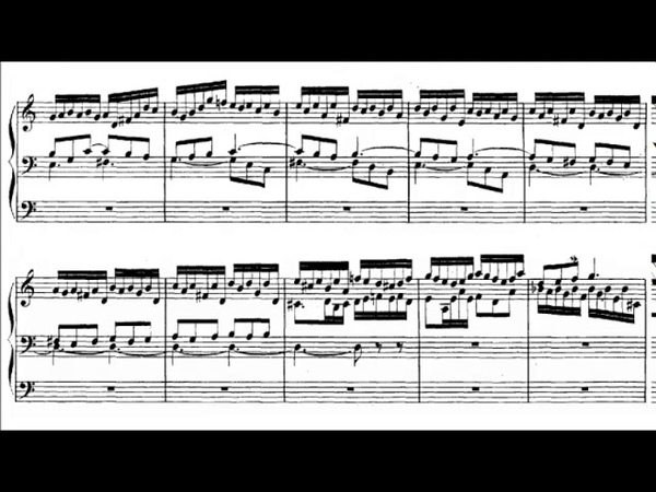 J.S. Bach - Prelude and Fugue in A minor The Great, BWV 543 {Peter Hurford}
