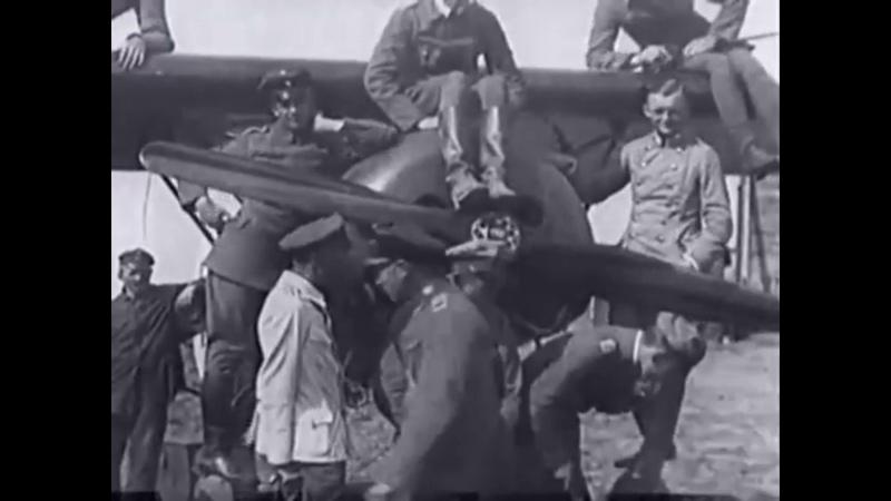 Goering and von Richthofen in Belgium 1916-18
