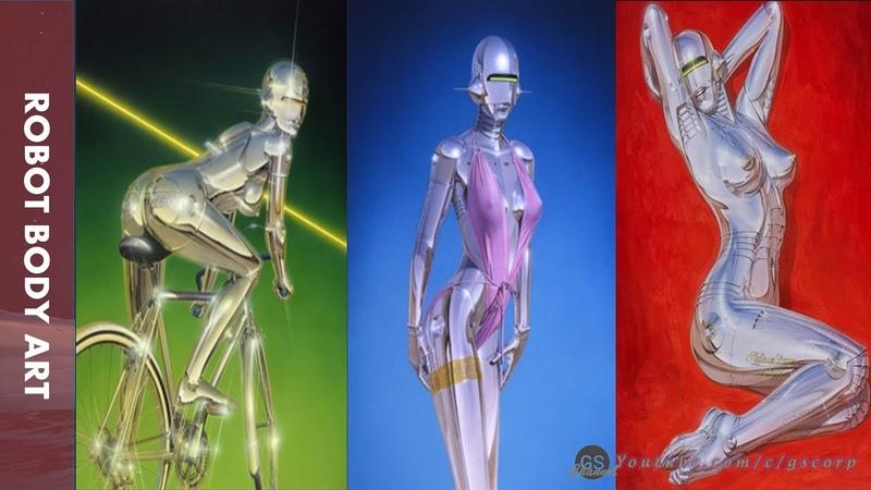 Vẻ đẹp của nghệ thuật cơ thể robot