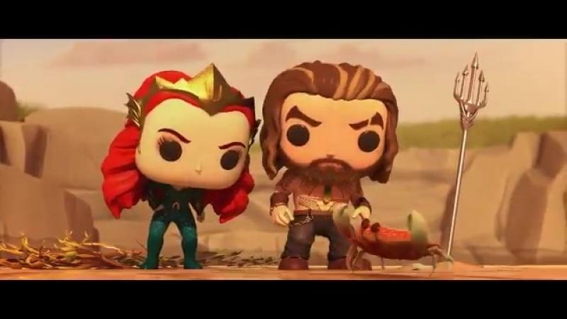 Lost Relic - animação em curta metragem de Aquaman. Por Funko Pop.