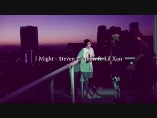 Видео со съёмок клипа - I Might