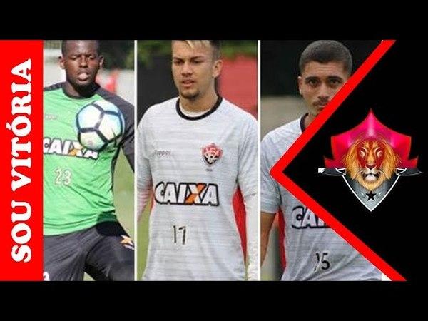 Caíque Jhemerson e Luan ficam à disposição de Burse para a disputa do Brasileiro Sub 23