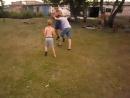разминка с детьми умение маневрировать координация движения ребята играют в веселую игру как раньше играли дети воинов